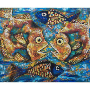 Hot Selling Indonesia Fish Oil Painting Canvas For Commercial Decor Wall Art  sc 1 st  Alibaba & Hot Selling Indonesia Fish Oil Painting Canvas For Commercial Decor ...