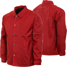 Custom Made High Quality Coaches Jackets Fashionwear Made Nylon Material Coaches Jackets All Colours