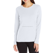 Women's Long Sleeve White Polo Shirt / T-Shirts / Sports Shirts