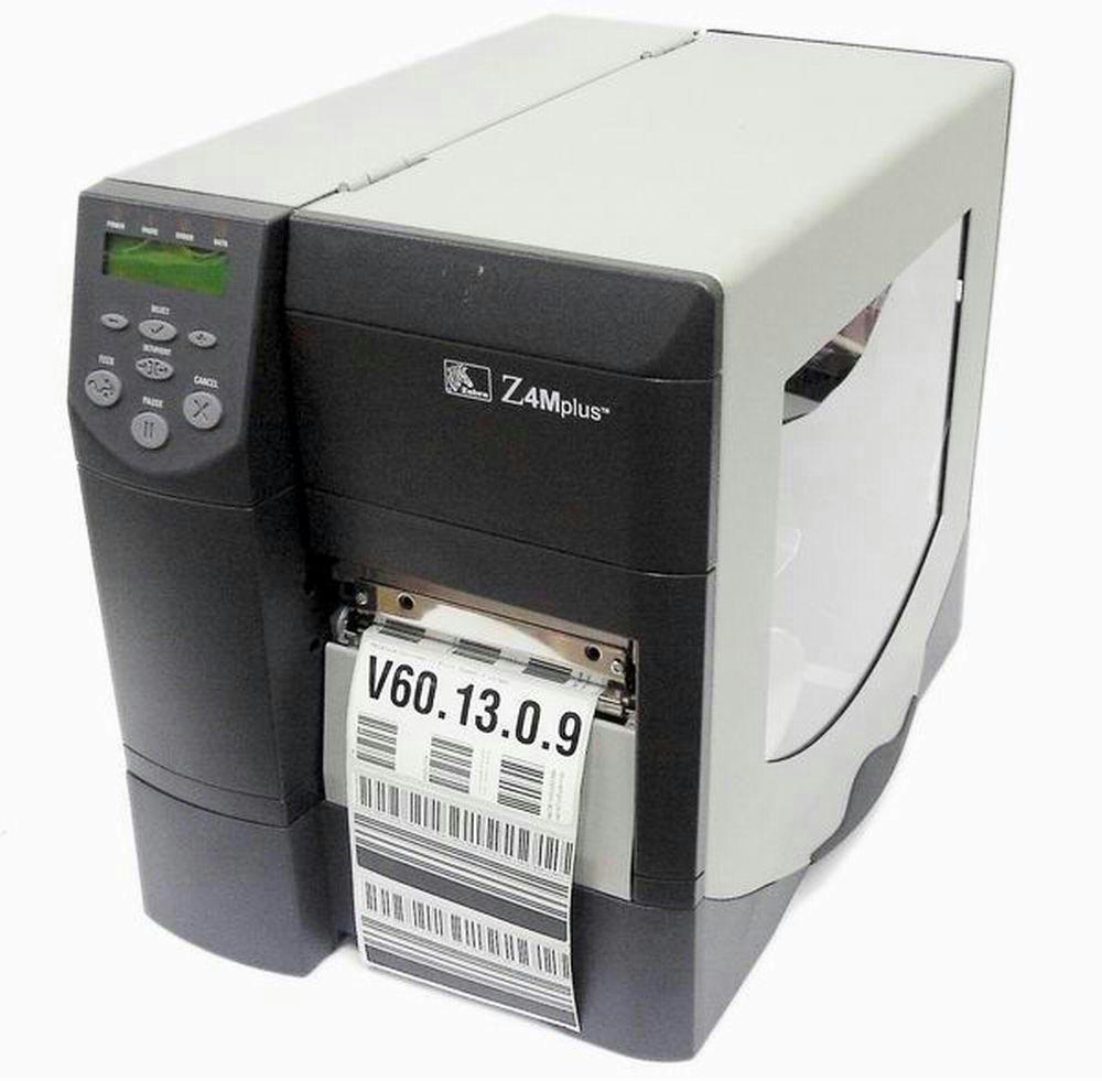 Refurbished- Zebra Z Series Z4M Plus Label Direct Thermal Printer Monochrome 203dpi Parallel Serial Z4M0020010000 Z4M00-2001-0000