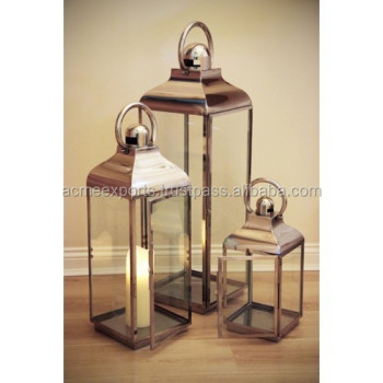 Stainless Steel Classic Vintage Outdoor Wedding Candle Holder Stainless Steel Lantern