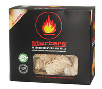 Eco wood wool firelighter - fire starter for BBQ and fire place