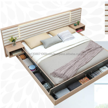 Japanese Modern Traditional Design Bed Frame - Buy Japanese Design ...