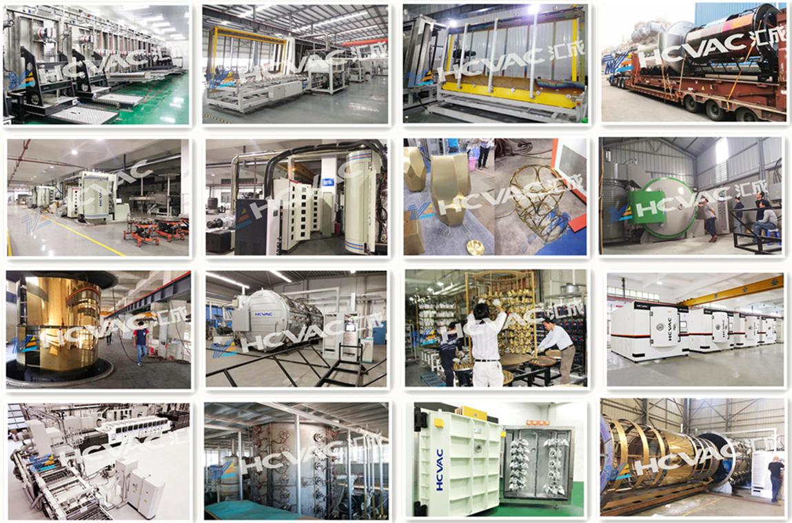 HCVAC rivestimento IN PVD macchina per acciaio, acciaio, vetro, ceramica