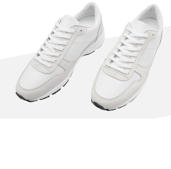 6CM CL0016 ELEVATOR RUNNER UNISEX WHITE SNEAKERS 1Faq41rz