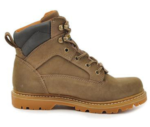 Wholesale Best selling Genuine Leather Steel Toe Safety Shoes Boots with PU Sole Shoes
