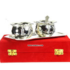 Hot handi tie bowl set silver plated indian wedding return gift wholesale diwali gifts