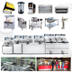 Full Solution Shinobal Kfc Mcdonalds Fast Food Burger Restaurant Kitchen Equipment(Chinese Price in UAE)