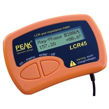 PEAK Atlas LCR45 LCR and Impedance Meter
