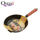 Easy wash round non stick coating frying pan