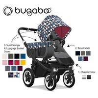 Christmas swift delivery for _NEWLY DESIGNED_ Bugaaboo Donkey2 Mono Complete Stro0ller in Black