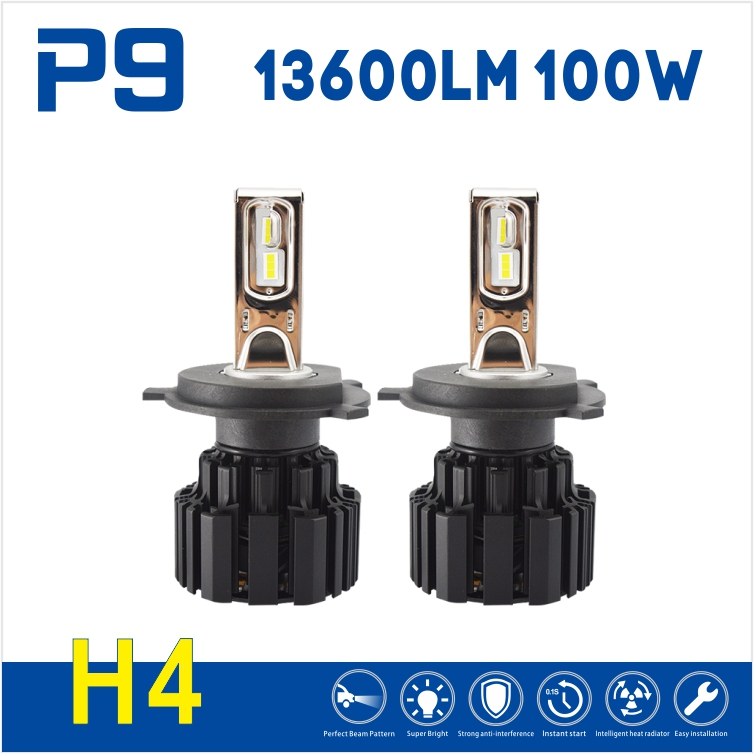 Unimaginable quality special LED light source h4 6800 lumen Flip chips P9 Car Led Headlight electric motorcycle conversion kits