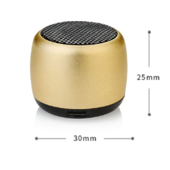 Promotion gift super music mini aluminium subwoofer portable BM2 blutooth wireless speaker with remote shutter