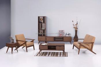 Woonkamer Houten Meubels : Houten sofa set massief hout sofa maleisië massief houten meubelen