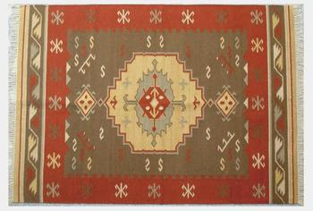 Custom Sizes Cotton Durry Rug Hand Made Kilim Carpet Dhurrie Indian Rugs Product On Alibaba