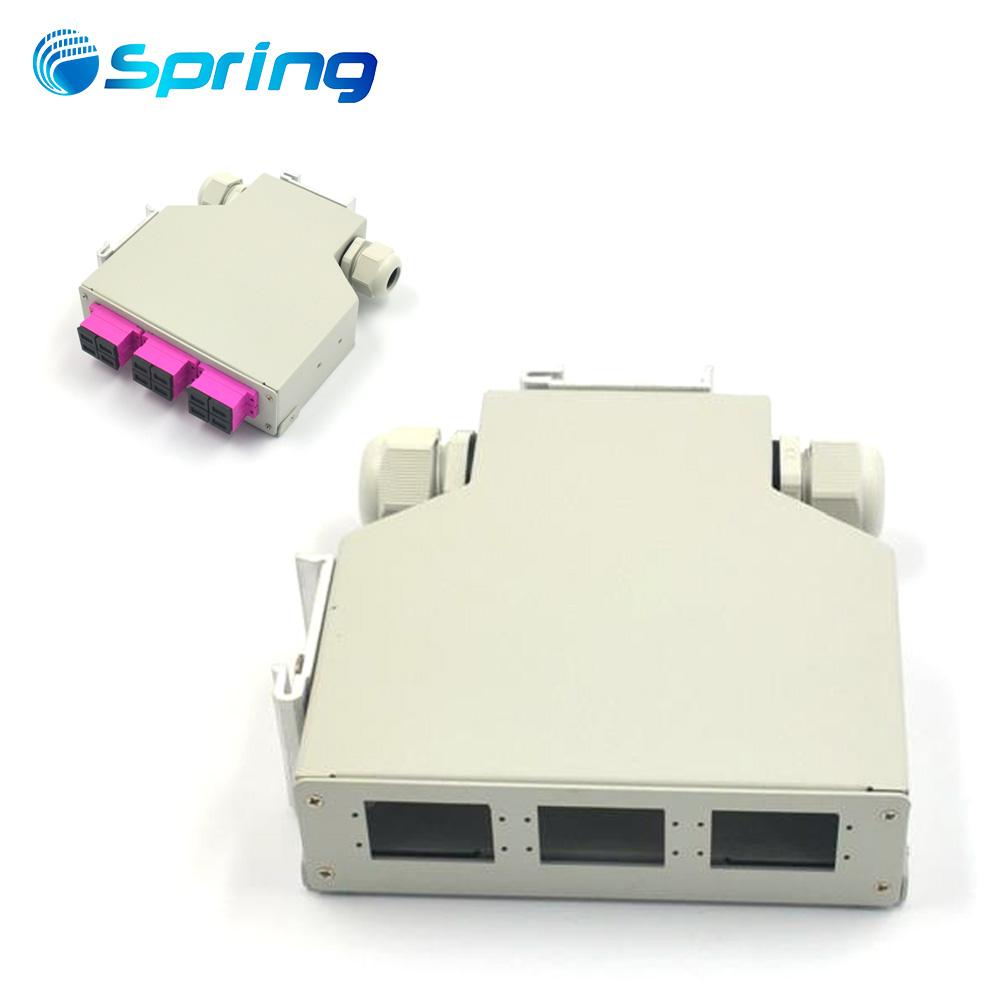 FBT Coupler 1X2 ABS BOX SM dual window  LC/UPC connector fiber optic coupler