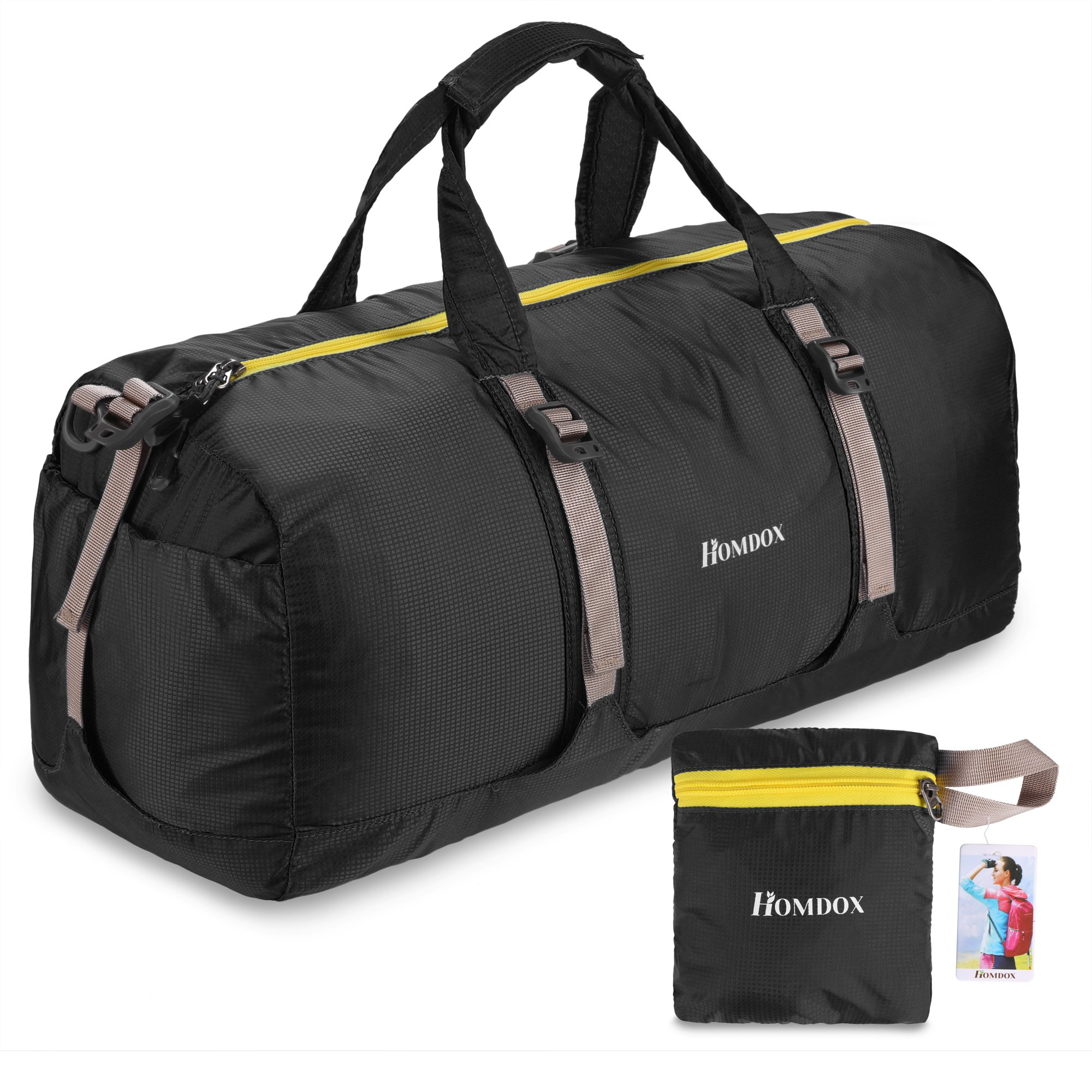 ebf37d8f0af8 Get Quotations · Homdox 40L Foldable Duffle Bag for Gym or Luggage