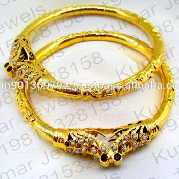 cb77e8c87fb 22t Gold Plated Embossed Work Pearl Beaded Traditional Ethnic Ladies Wear  Designer Fancy New Design Golden