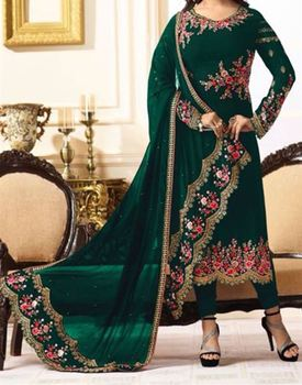 The Great Indian Factory Presents Indian Ladies Suits With Floral Printing For Women's