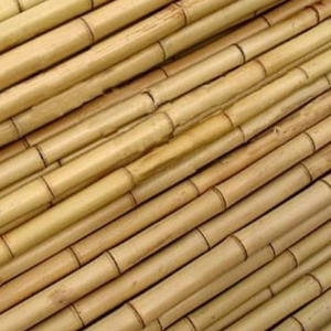 Large Bamboo poles wrapped plastic according to order