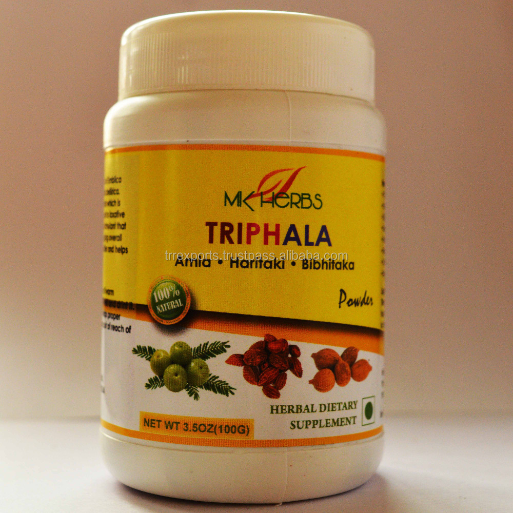 triphala powder constipation medicine herbal supplement