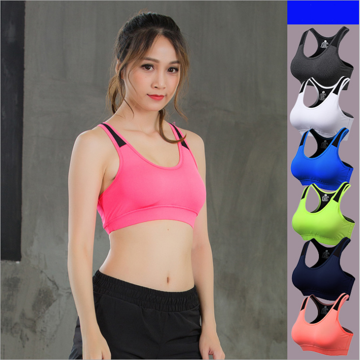 6ef9f0b5bc5 2018 Best Selling Women Pro Sports Bra Without Steel Ring