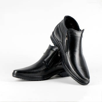 Hot sale men shoes Cow Leather with sheepskin