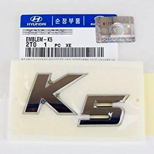 Kia Optima K5 Trunk Emblem - Tail Gate Emblem Badge Genuine OEM Part by Mobis by Kia