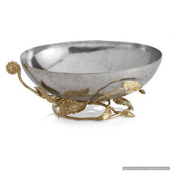 Fancy Metal Silver And Gold Decorative Bowl Buy Fancy Metal Silver Inspiration Decorative Bowls And Balls
