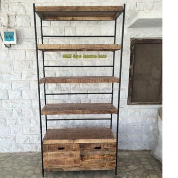 Libreria Metallo Legno.Bookshelf Mobili Libreria Di Legno Industriale Con Struttura In Metallo Buy Metallo E Legno Libreria Vintage Industriale Libreria Libreria Con