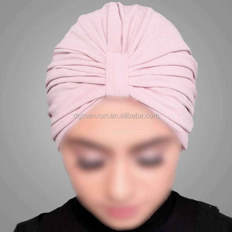 dusty pink muslim arabic turban hijab