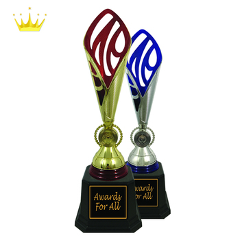 UNIQUE PLASTIC TROPHY WITH MODERN DESIGN
