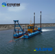 River gold and sand mining dredge ship/boat/vessel