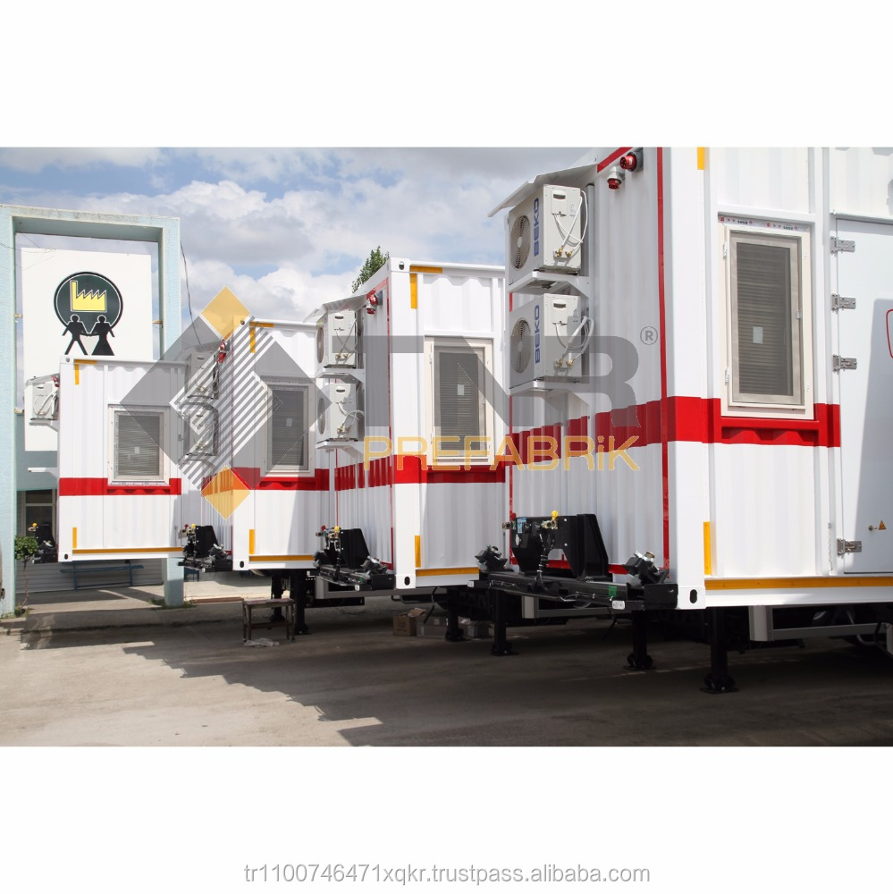 High Quality 20 ft Container Trailer