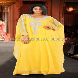india manufacture Kaftan Dress, Abaya Jalabiya Maxi muslim women long dress 2014