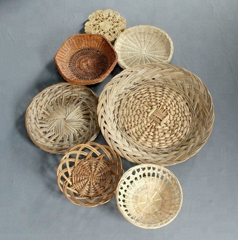 Woven Basket Wall Decor By Seagr