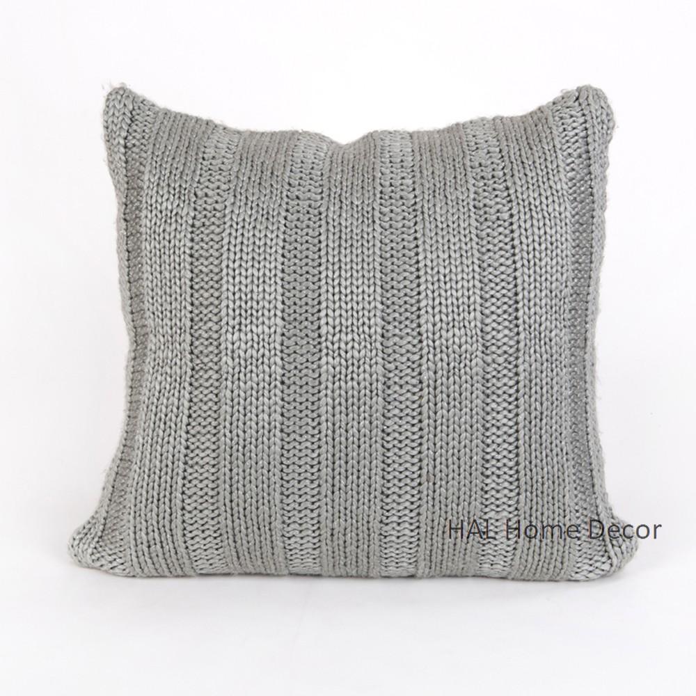 Funda de almohada cojín funda cojines decorativos 50x50 a mano