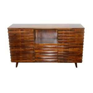Indian Sheesham Wooden Furniture Two Door Two Drawer Sideboard W150 cm