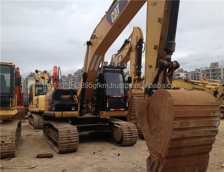 used construction machine Caterpillar 320D crawler excavator for sale
