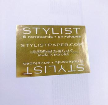 Printing Matte Gold Foil Copper Paper Roll Label Sticker - Buy Matte Gold  Foil Paper Sticker,Gold Foil,Copper Foil Stickers Product on Alibaba com