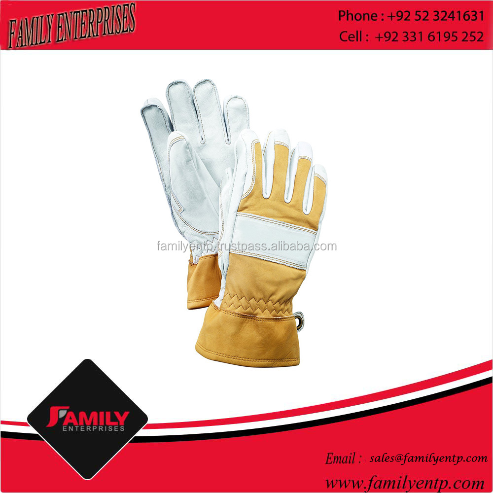 Best Quality High Grade China Canadian Sheepskin Leather Industrial Latex Work Gloves