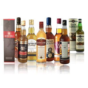 Whisky Spirits (Scotch) Whisky High Quality 40 % Private Label possible