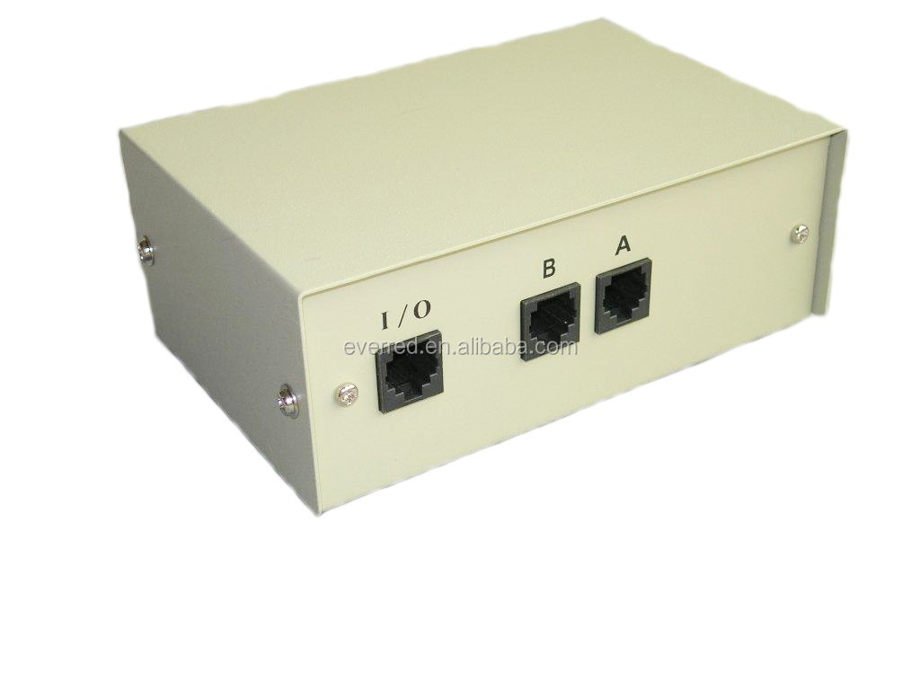 2 Port RJ45 Data Switch Box 6070