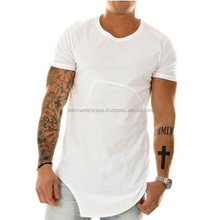 Fashion Brand Kanye West soild Color irregular Hip Hop streetwear Swag tyga Men T-shirt Cotton Short Sleeve T shirt