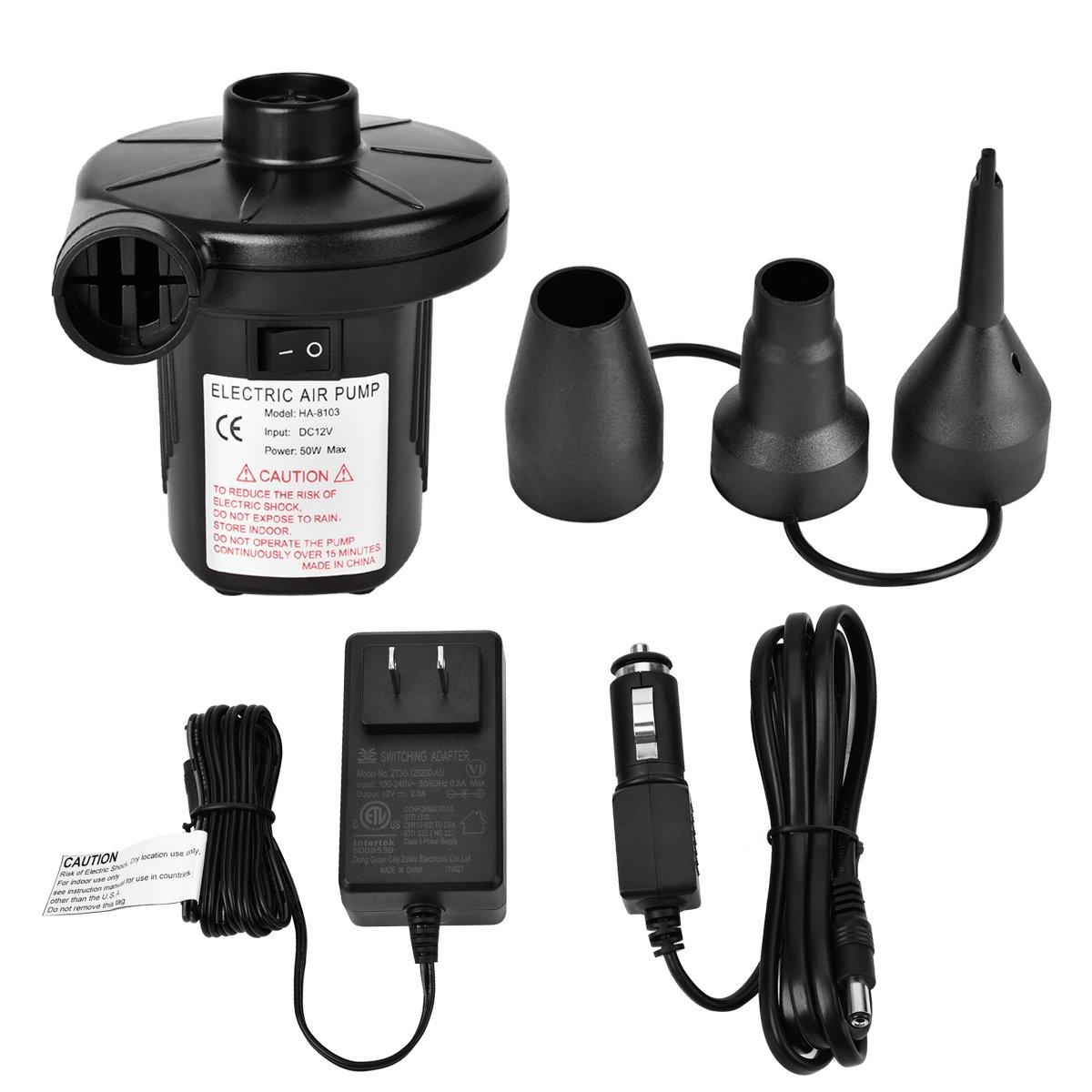 Amazon portable air pump nautilus battery charger