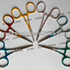 Colored Handles Fly Fishing Forceps / Flt Press Tooling