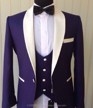 2017 New Style Men S Designer 3 Pieces Groom Wedding Suit With Color