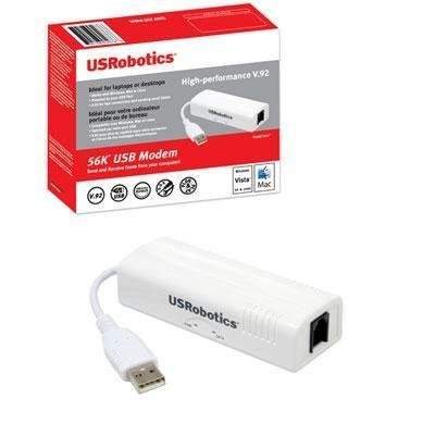 U.s. Robotics 56k V.92 Usb Hardware Faxmodem (usr5637) -