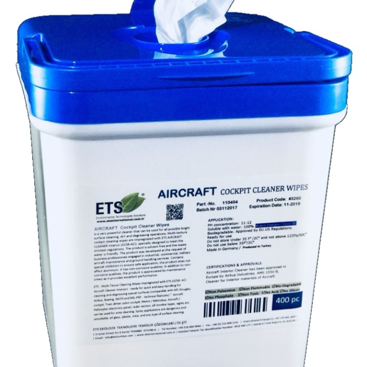 AERONAVES COCKPIT CLEANER LIMPA
