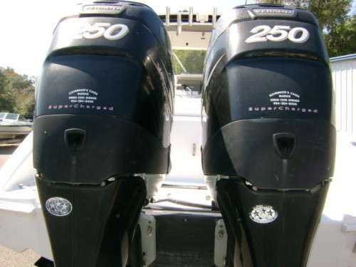 FREE SHIPPING FOR USED Mercury 250HP Verado Four Stroke Outboard Motor